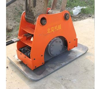 Construction excavator hydraulic vibrating plate compactor for sale with hydraulic power-1
