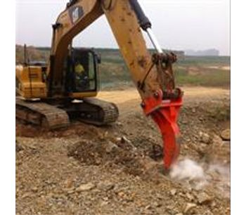 Lydite - Model BYKR 02 - Heavy duty single shank excavator ripper