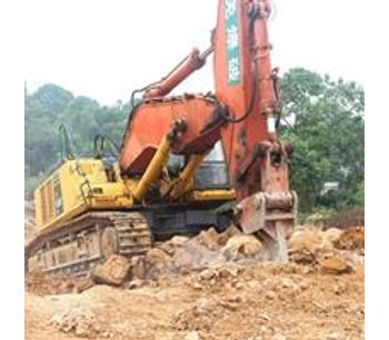 Heavy duty single shank excavator ripper-3