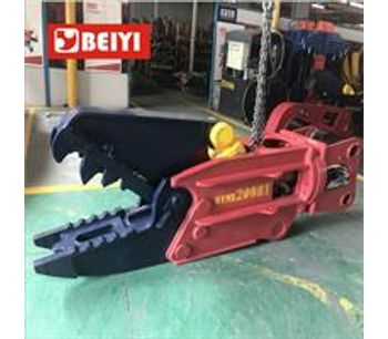 Lydite - Model BYMK200RT - multi functional tool hydraulic shear and pulverizer