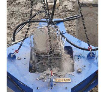 Rock Pile Cutting Machine Square Concrete Pile Breaker Pile Cutter-3