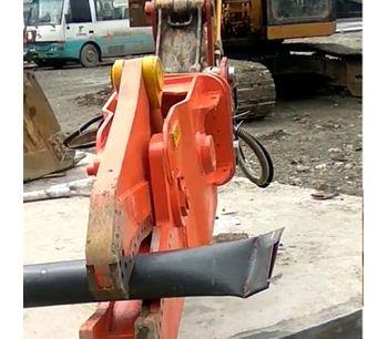 Excavator hydraulic metal cutting shear for cutting aluminum-3