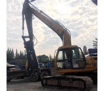 Excavator hydraulic metal cutting shear for cutting aluminum-4