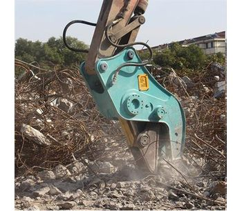 Hydraulic Concrete Cutting Shears, Concrete Pulverizers, Concrete Crusher For 8-25T-3