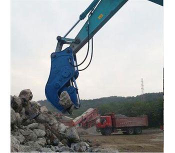Hydraulic Concrete Cutting Shears, Concrete Pulverizers, Concrete Crusher For 8-25T-1
