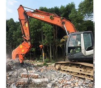 Hydraulic Concrete Cutting Shears, Concrete Pulverizers, Concrete Crusher For 8-25T-2