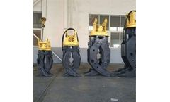 Lydite - Model BYKL 04 - Demolition heavy duty wood grab hydraulic excavator rotating grapple