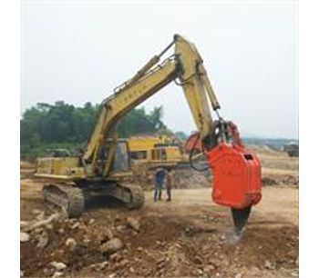 China Manufacture Ripper BEIYI Hydraulic Vibro Ripper For Excavator-3