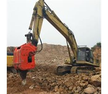 China Manufacture Ripper BEIYI Hydraulic Vibro Ripper For Excavator-1