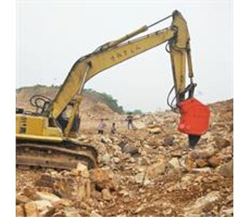 China Manufacture Ripper BEIYI Hydraulic Vibro Ripper For Excavator-2