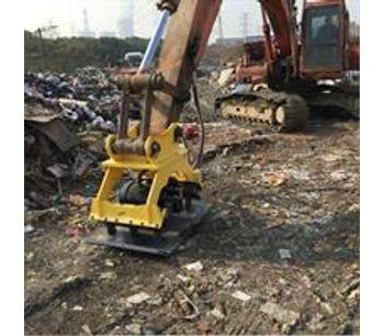 excavator hydraulic excavator concrete compactor-3