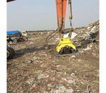excavator hydraulic excavator concrete compactor-4
