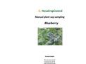 Manual Plant Sap Blueberry Sampling Services Brochure