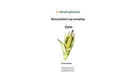Manual Plant Sap Corn Sampling Services Brochure