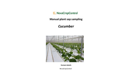 Manual Plant Sap Cucumber Sampling Services Brochure
