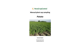 Manual Plant Sap Potato Sampling Services Brochure