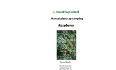 Manual Plant Sap Raspberry Sampling Services Brochure