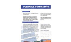 Keljay - Model KP 32 - High Performance Portable Compactors Brochure