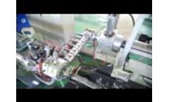 Kaide Flat Drip Irrigation Tape Machine Video