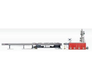 Kaide - Model SJ - High Speed HDPE Pipe Production Line Machine