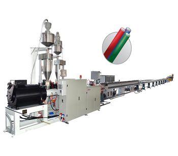 Kaide - Model KDGX - Micro Duct PE Silicone Core Pipe Production Line Machine