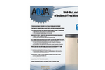 Aqua Plus - Model Series 1 - Indirect Fired Water Heaters Brochure
