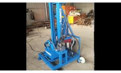 Portable Water Well Drilling Machine - Video