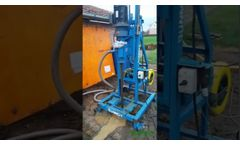 S200D Portable Water Borehole Well Drilling Machine - Video