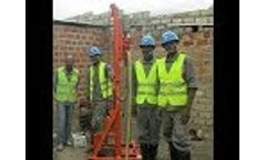 HG260D Portable Water Well Drilling Rig - Video