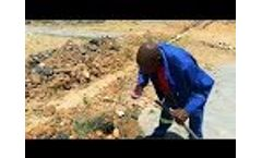 Sunmoy Solar Water Pump is Installed in Africa - Video