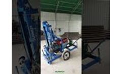 HF260D Portable Hydraulic Water Well Drilling Machine - Video
