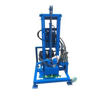 Gasoline Engine Hydraulic Drilling Rigs-2