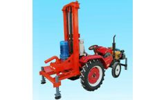 Sunmoy - Model ST500D - Trailer Mounted Drilling Rig