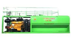 Model HKP - 175kw Hydroseeding Machine
