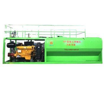 Model HKP - 175kw Hydroseeding Machine