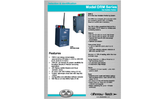 Arrow-Tech - Model DRM Series - All-in-One Data Radiation Monitoring System Brochure