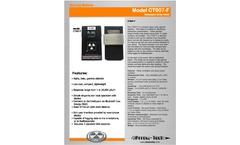 Arrow-Tech - Model CT007-F - Survey Meters Brochure