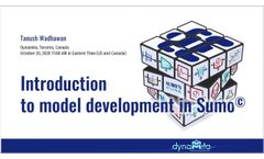 Introduction to model development in Sumo
