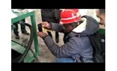 DTS Series Waste Oil Decolorization Purifier Comparison of waste oil and purified oil Video