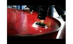 DTS Series Waste Oil Decolorization Purifier Purified oil Video