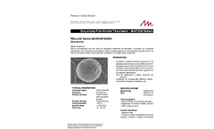 Matsphere - Model MAT 250 Series - Hollow Silica Microspheres Brochure