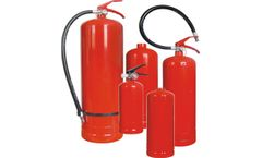 TenNeed - Model TN01-A-01 B - Fire Extinguisher & Cylinders