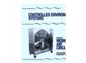 American Coolair - Model MCF - High Volume Heavy Duty Mobile Air Circulator Fan Brochure