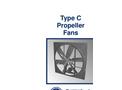 American Coolair - Model CBA - Belt Drive Wall Fans Brochure