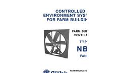 American Coolair - Model NBF - Belt Drive Fans Brochure