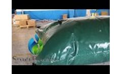 Spacebladder 5000L PVC Pillow Flexitank for Water Storage Video