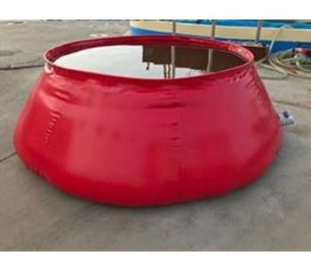Space-Bladder - Foldable Onion Shape Fire Fighting Water Tank for Fire-Fighting