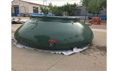 Space-Bladder - Model 150 Gallon - Onion Shape Food Grade Water Tank for Army Application