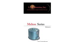 L K Industries - Model MEL - Melton Centrifuge Brochure