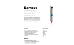 Ramses - Acoustic Synthetic Baseline Positioning System Brochure